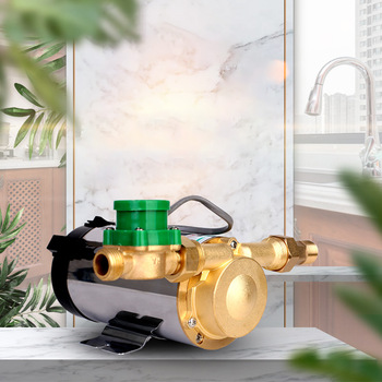220V Booster Pump Household Mute For Tap Water Pipeline/heater With Automatic Flow Switch,Solar Energy Hot And Cold Water Pump household automatic booster pump water heater tap water mute pressurized water pump