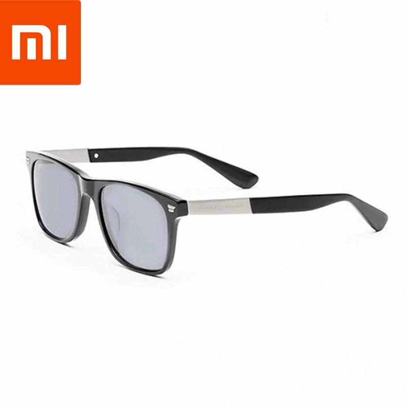XIAOMI TS polarise UV400 lunettes de soleil voyage hommes résistant au soleil lentille noir cadre professionnel randonnée en plein air lunettes de pêche