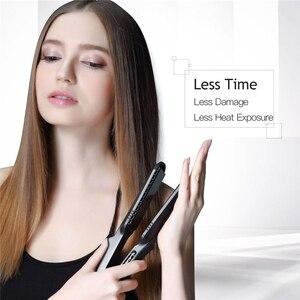 Image 2 - 4 em 1 placas interalteráveis, alisador de cabelo, ferro, grampo, ferramenta de estilização de cabelo, onda profunda, alisador