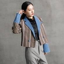Модный блейзер для женщин 2020 зимняя твидовая костюм; Женские