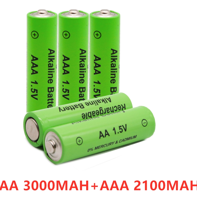 AA AAA 1,5 V 3000 MAH akku AA 1,5 V. AAA 1,5 V Wiederaufladbare Neue Alcalinas drummey für spielzeug licht emittierende diode