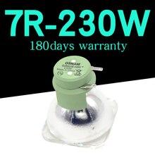 عالية الجودة 7R 230 واط مصباح تتحرك شعاع 230 واط مصباح 7r شعاع 230 R7 مصابيح هاليد المعدنية msd البلاتين 7r مصباح
