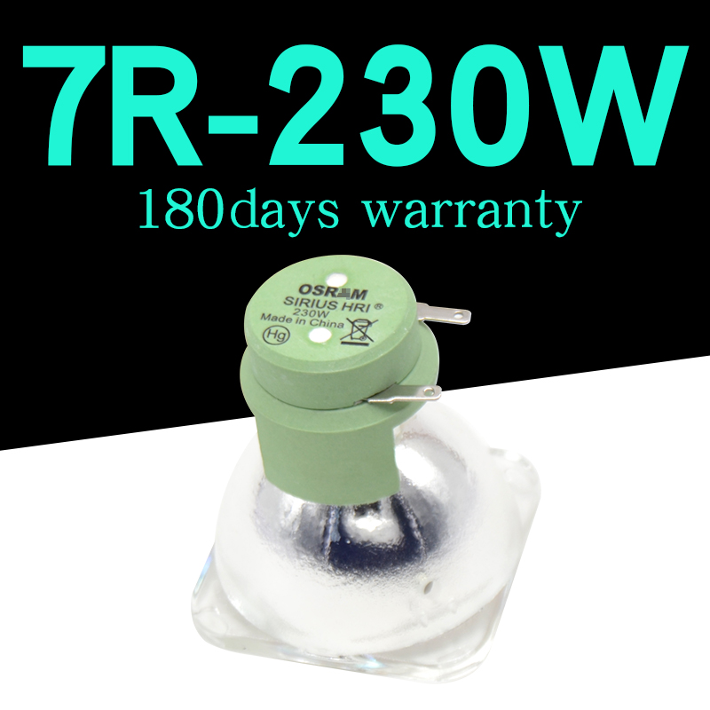 High Quality  7R 230W Lamp Moving Beam 230w Lamp 7r Beam 230 R7 Metal Halide Lamps Msd Platinum 7r Lamp