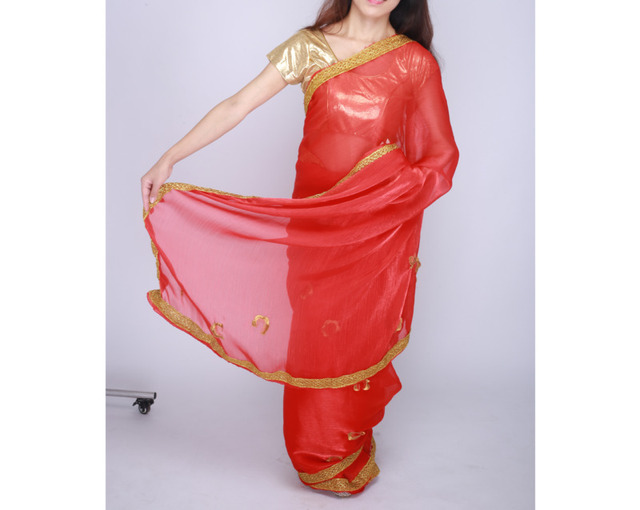 Indian Pakistani Dress Wedding Party Dress Sally For Women Clothing Red In Sari For Women In India 4