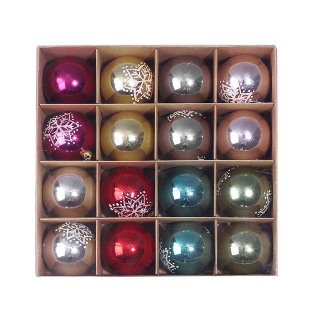 16 x Christmas Tree Baubles 11