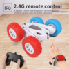 44WD RC Car 2.4G Radio Remote Control Car 1:24 Double Side RC Stunt Cars 360�� Reversing Model With Music And Lights Toy for Kids