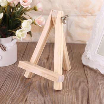 Wood Table Easel For Artist Easel Painting Craft Wooden Stand For Party Decoration Art Supplies metal easel for artist painting sketch weeding easel stand drawing table box oil paint laptop accessories painting art supplies