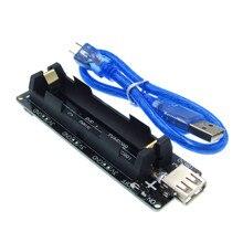 ESP32 ESP32S dla Wemos dla Raspberry Pi 18650 ładowania baterii płytka shield V3 port micro USB USB typu A 0.5A do ładowania