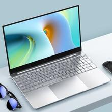 Intel Celeron J4125 15,6 zoll Laptop DDR4 8GB RAM Mit 128G 256G 512G SSD 1TB 2TB Windows 10 pro 2,4G + 5G dual Wifi Bluetooth 4,0