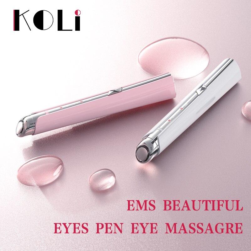 Koli Acne Removal Pen Blue Light Eye Bag Dark Circles Removing Stick Eye Massager Beatuty Instrument Face Skin Care|Face Skin Care Machine| |  - title=