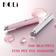 Koli Acne Removal Pen Blue Light Eye Bag Dark Circles Removing Stick Eye Massager Beatuty Instrument Face Skin Care