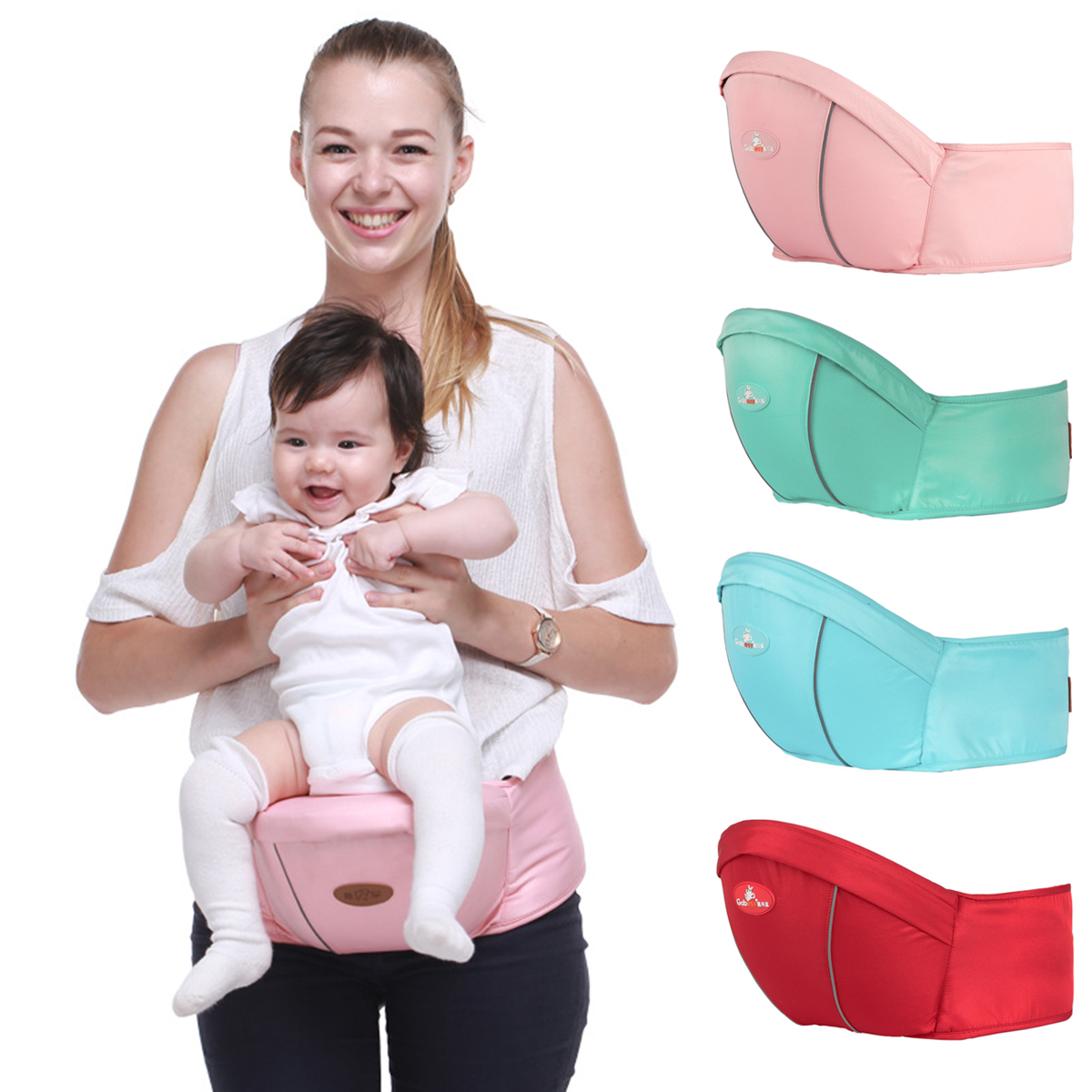 Drop Shipping Hipse A Child's Carrying For Baby Hip Seat Waist Stool Portable Front Facing Ergonomic Baby Hip Seat Carrier