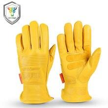 Рабочие перчатки OZERO, рабочие антистатические перчатки ручной работы для сварки, сада, рыбалки, рабочие перчатки из овечьей кожи для мужчин ...