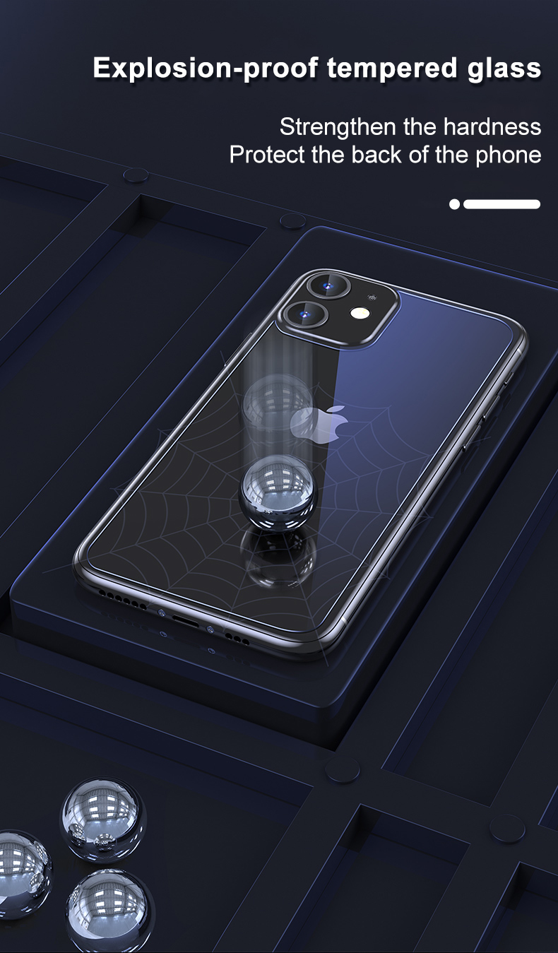 iPhone 12 Mini Tempered Glass Case