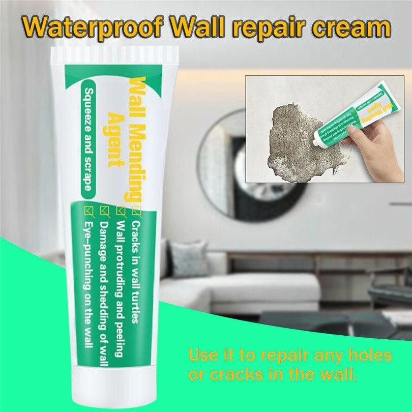 1pc 100ml Valid Mouldproof Wall Mending Agent Wall Repair Cream Wall Crack Nail Repair Quick-drying Patch Restore Original #3S6