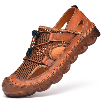 Mens Classic Leather Sandals