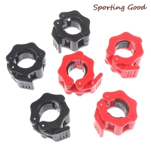 Clamp Clips Dumbbell Barbell Collar Weight-Lifting Gym Fitness-Training 28mm/30mm 2pcs