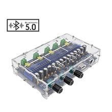 Aiyima tpa3116d2 bluetooth 5.0 증폭기 보드 50 w * 2 + 100 w * 2 4 채널 서브 우퍼 amplificador de 오디오 사운드 앰프 보드