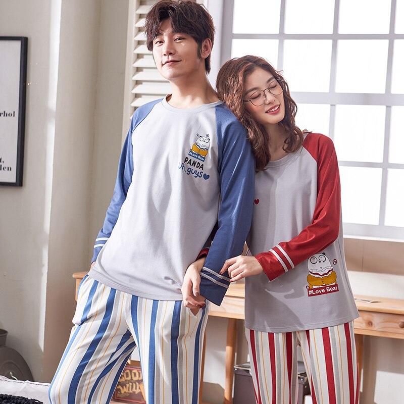 Hombre Set Pijama Top de Manga Larga y Pantalones