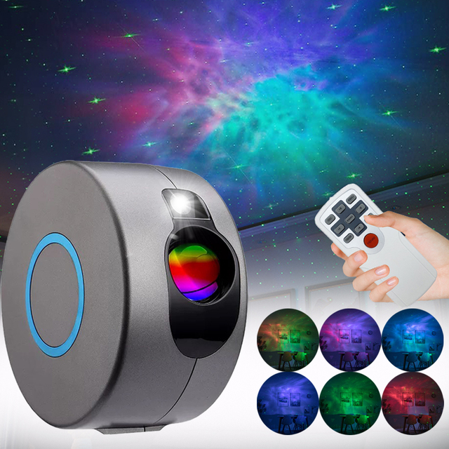 Galaxy Projector Night Light Star Projector Starry Sky Light For Bedroom Decor Night Lamp Novelties Galaxy Light Projector