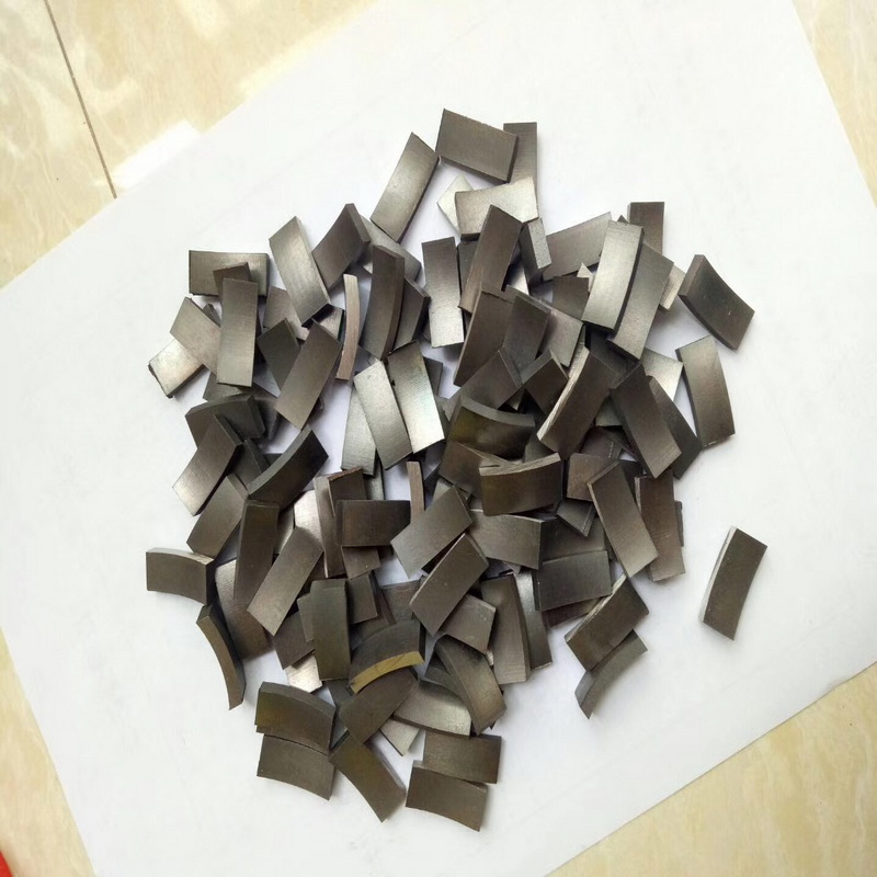 Free Shipping 4PCS/set Diamond Segments For Be Using For Repairing 18-400mm Diameter Diamond Wet Core Bits Segments Replacement
