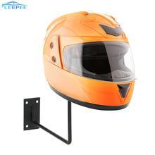 Capacete de alumínio expositor suporte gancho montado na parede rack titular capacete da motocicleta para chapéu boné acessórios da motocicleta