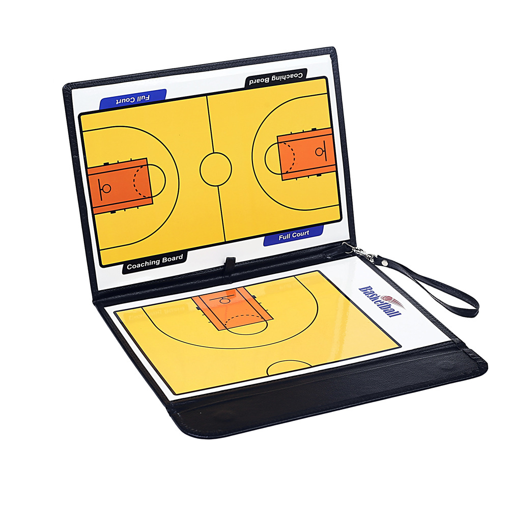 Высший сорт Магнитная Скрытая вещество баскетбольная тактическая доска три раза инструктор учебная доска с магнитным скалярным стилусом