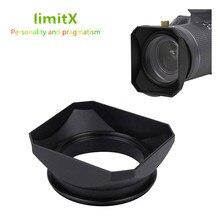 Capa de lente de forma quadrada retro para leica D LUX typ109 panasonic DMC LX100 lx100 mark ii câmera