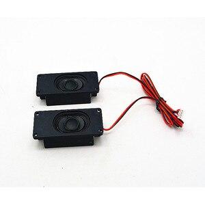 Image 3 - SOTAMIA 2Pcs Mini Portable Audio TV Speaker Driver 8 Ohm 2W DIY Advertising PC Speaker Computer Loudspeaker For Home Theater