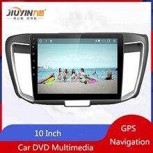 JIUYIN 10.1 Inch Auto Radio Stereo For Honda Accord 2014 2015 2016 Android 8.1 Vehicle Car DVD Multimedia GPS Navigation
