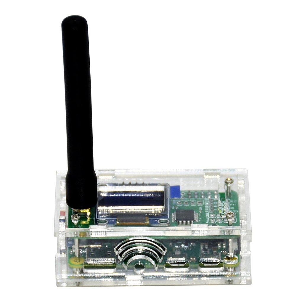 Single relay finished with black acrylic shell Pocket size 32-bit ARM processor Up to 10mW RF power 1 set
