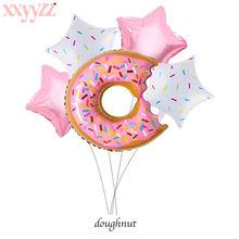 XXYYZZ Happy Birthday Balloon Donut Lollipop / Pizza / Ice Cream Wedding Party Decoration Balloon Sweet Baby Shower Foil Balloon(China)