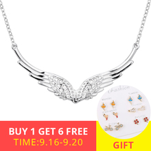 XiaoJing New arrivals 100% 925 sterling silver diy design pendant chain necklace fashion jewelry making for women gifts 2019