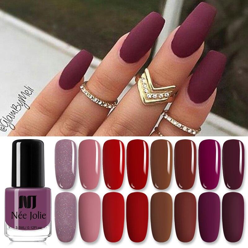 Ни Джоли Цвет дизайн ногтей гель лак Лаки длительный лак для нейл-арта Лаки es Штейн нейл-арта Лаки украшения