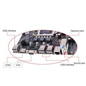 Image 5 - New P8H61 M LX3 PLUS R2.0 Desktop Motherboard H61 Socket LGA 1155 I3 I5 I7 DDR3 16G uATX UEFI BIOS Mainboard Dropship