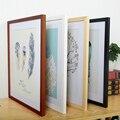 Новинка 4 цвета деревянная рамка для фото постер картина A2 A3 A4 размер настенная художественная рамка украшение для дома