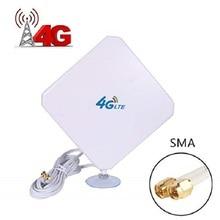 4G 35dBi antenne SMA männlichen dual interface 4G LTE Externe Antenne Für B525 B310 B315 B593 B612 B715