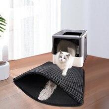 Cama de cama de gato de gato de estimação cama de produto de animal de estimação para gatos casa limpa esteira dupla camada cama de gato almofadas de armadilha animais de estimação