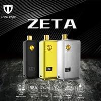 Think Vape ZETA RBA Pod Kit 60W Portable DTL MTL vaping Adjustable Airflow Electronic cigarette vape Kit Pod System Vaporizer