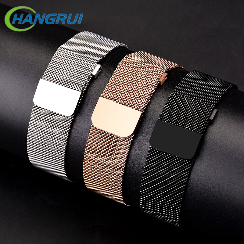Replacement Metal Stainless Steel Band For Fitbit Versa Strap Wrist Milanese Magnetic Bracelet Fit Bit Lite Verse 2 Accessories