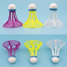 3 Packs Of Windproof And Resistant Nylon Badminton Training, Badminton Outdoor Playing E5M5