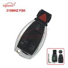 Kigoauto 315Mhz BGA Smart key 3 button with panic for Mercedes E350 C350 ML350 SLK350 GLK350 2009 2010 2011