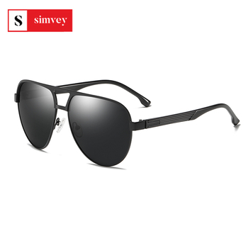 Classic Retro Oversized Aviator Sunglasses HD Polarized Lens TAC UV400 for Driving Golf 1