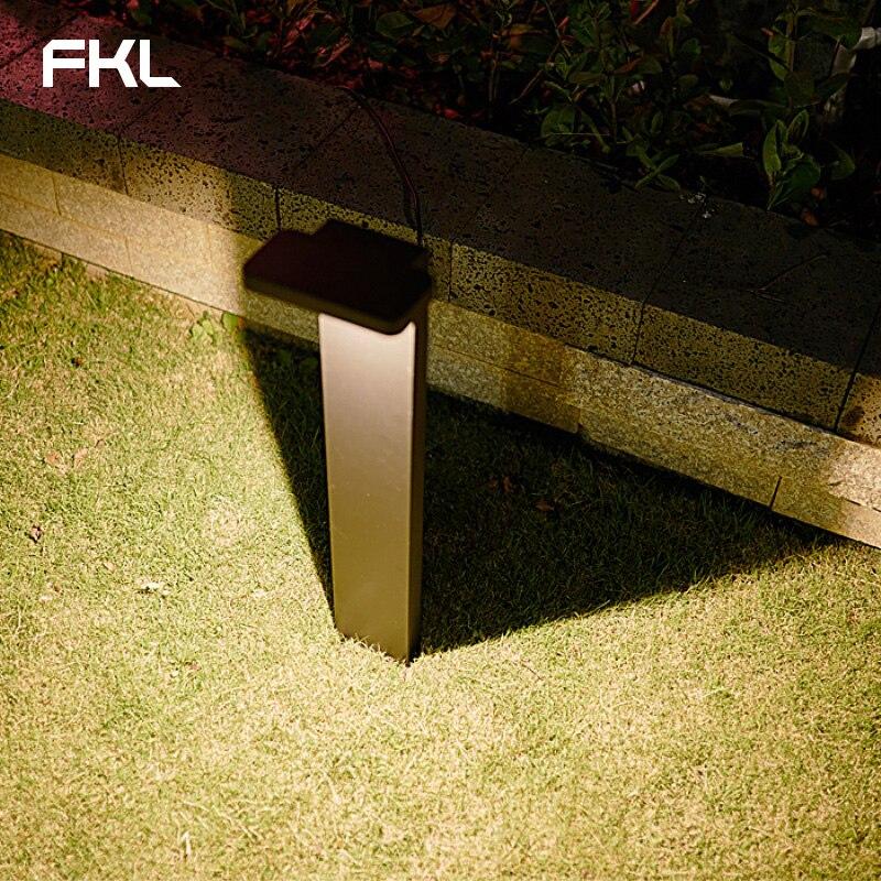 FKL Garden Light LED Outdoor Waterproof Street Light Simple Modern Square Park Lawn Villa Outdoor Grass Light - 5