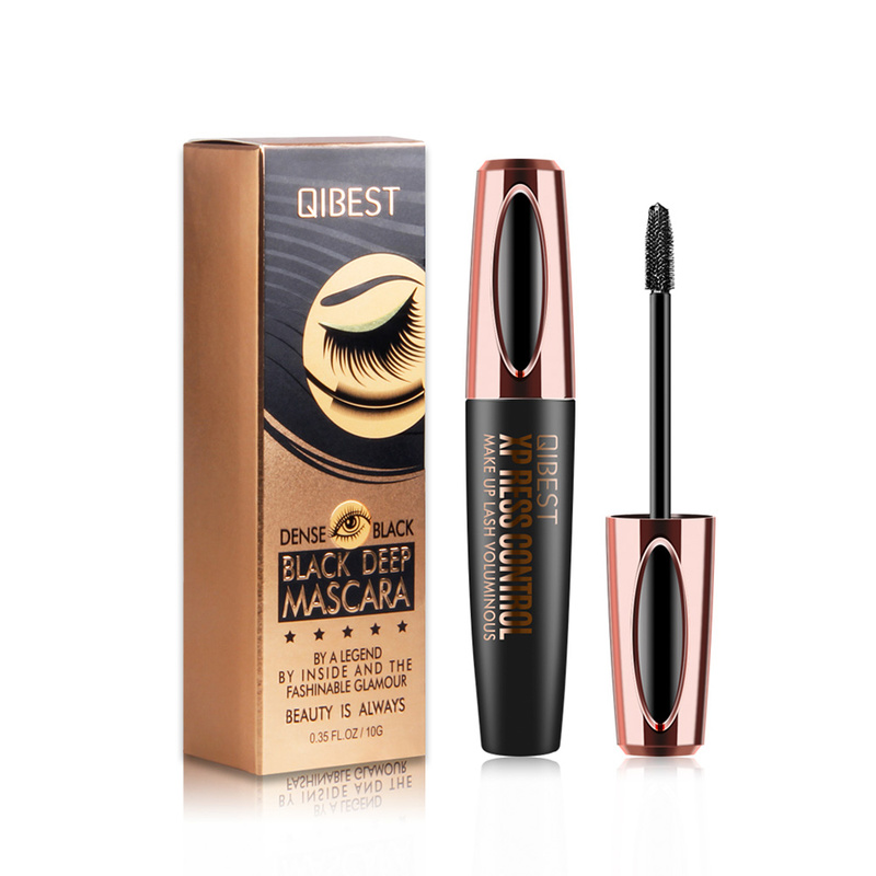 Black Thick Extension Eyelashes Cosmetics 2019 Hot And New Makeup 4D Silk Fiber Lash Mascara Waterproof  Eyelash Extension TSLM1