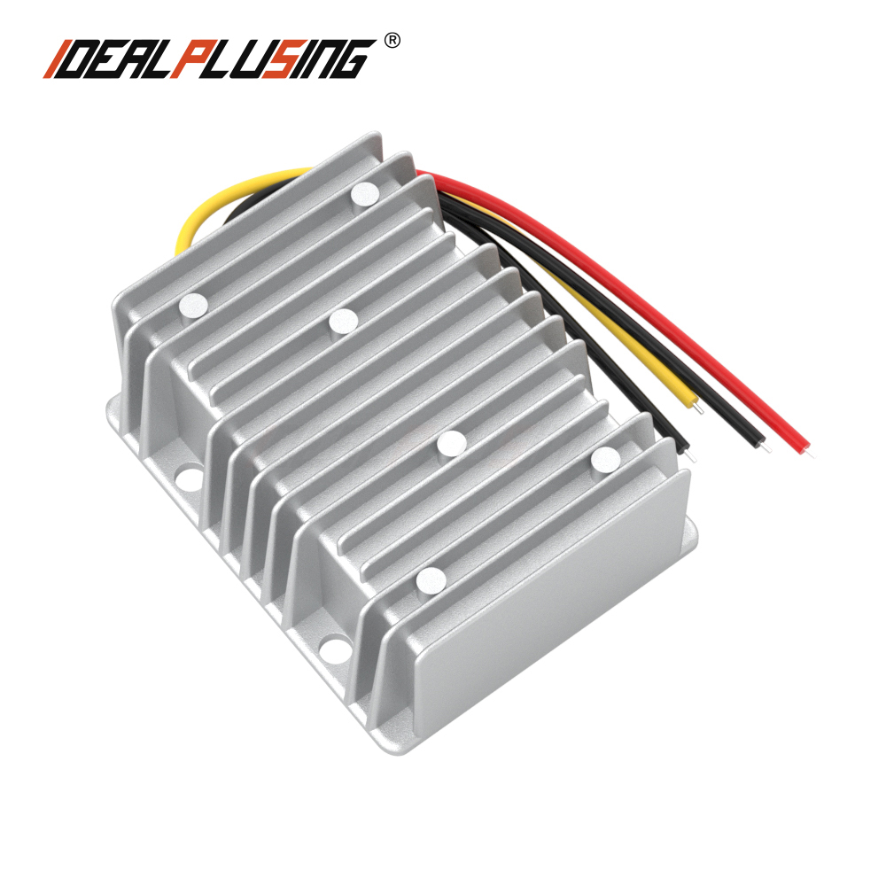 Hot selling 8-40v to 12v buck boost power converter 15A 20A 25A voltage regulator for car