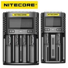 Интеллектуальное зарядное устройство NITECORE UMS4 UMS2 с поддержкой быстрой зарядки и поддержкой быстрой зарядки