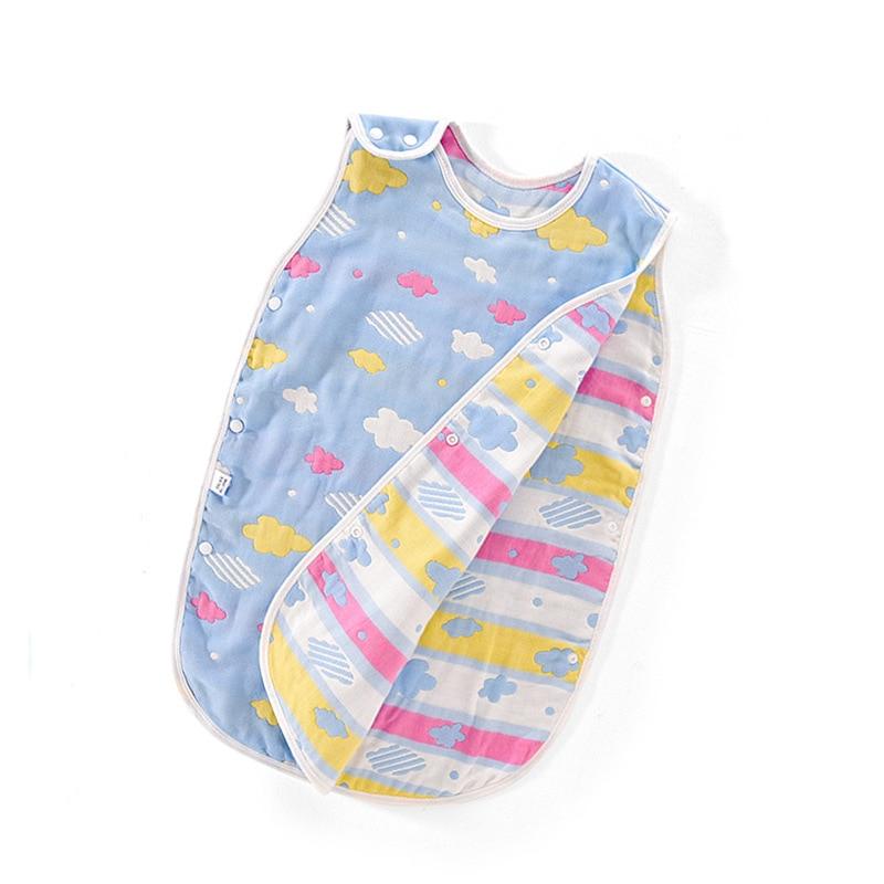 Baby Muslin Sleeping Bag Muslin Baby Sleeping Bag Kids Children Toddle BeddingBaby Saco De Dormir Para Bebe Sacks Sleepsacks