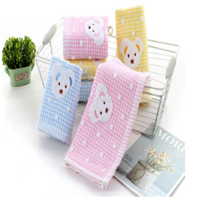 Pure Cotton Gauze Towel Gift Custom Cartoon Children Kindergarten Face Towels Daily At Home 8028