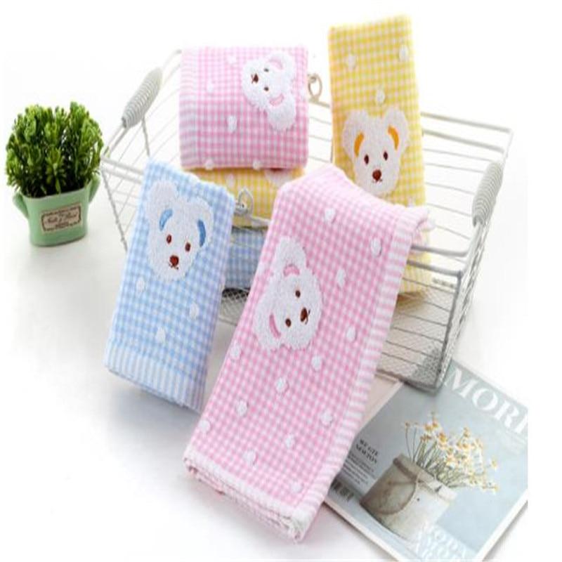 Pure Cotton Gauze Towel Gift Custom Cartoon Children Kindergarten Face Towels Daily At Home 8028